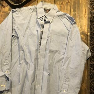 Blue/white checkered dress shirt